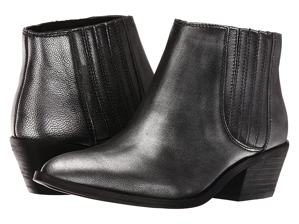 Chinese Laundry Farrah Bootie (Silver Metallic Leather) Women