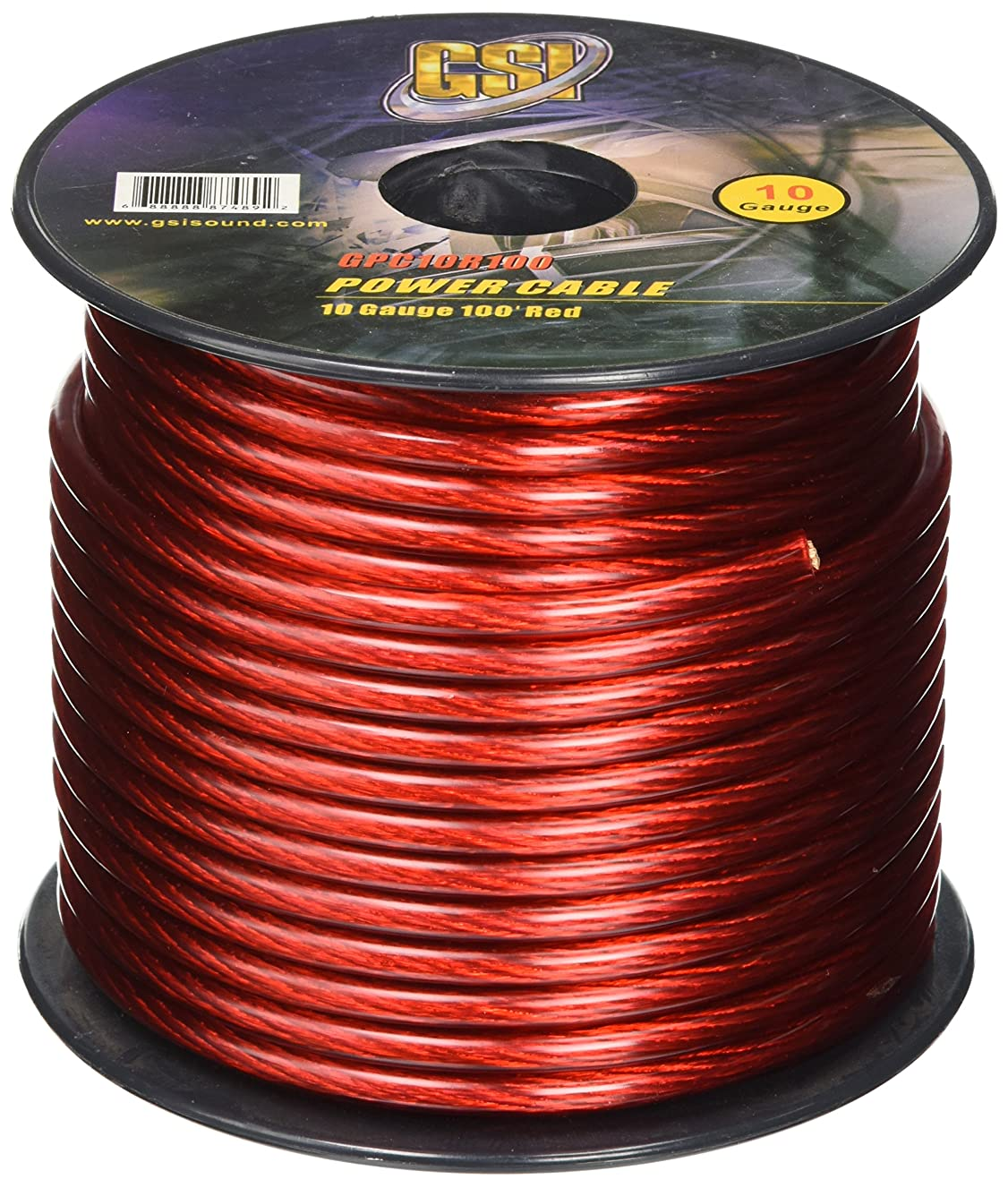GSI GPC10R100 - 10 Gauge Power Ground Cables
