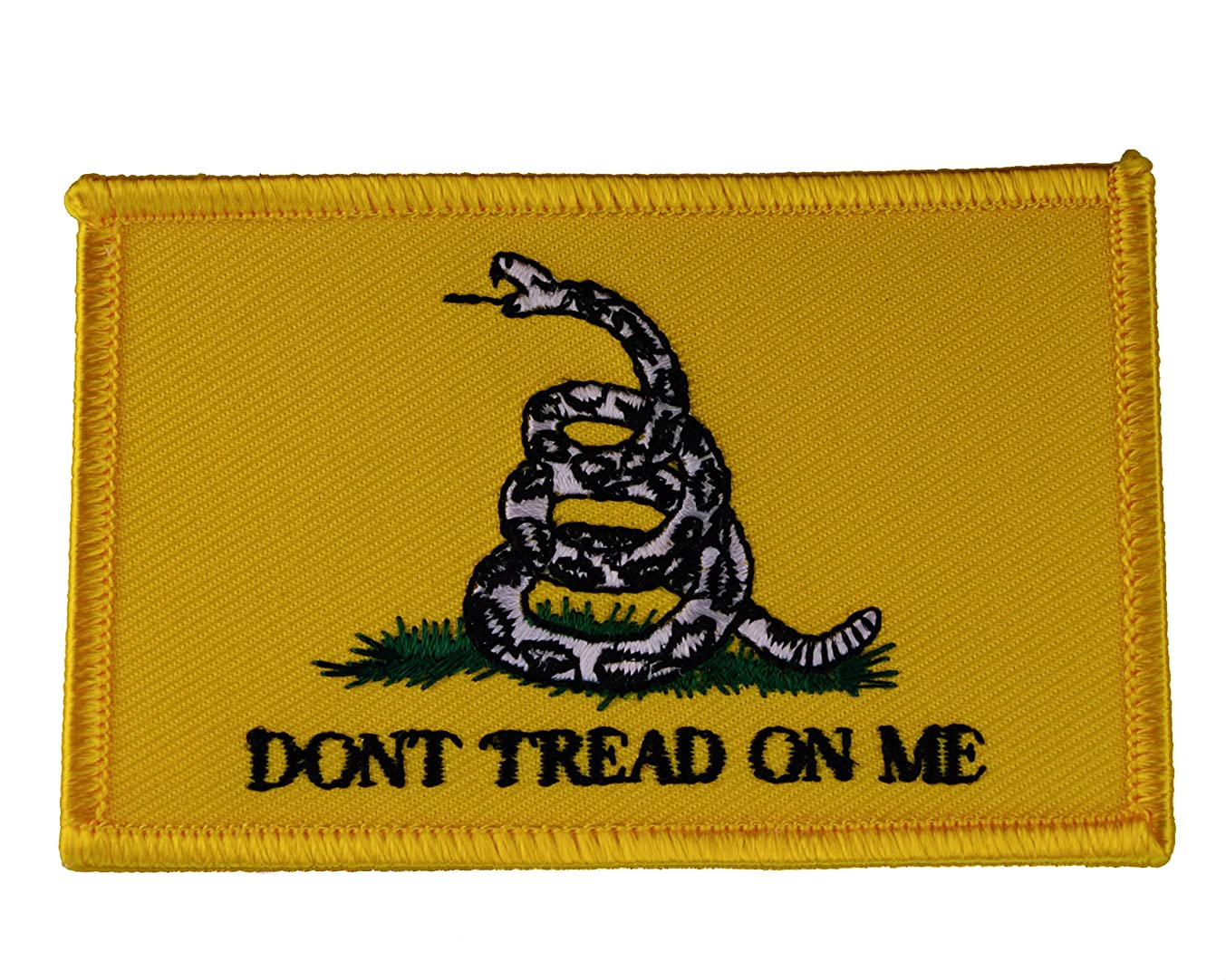 Don't Tread on Me Military Iron or sew on Patch AKPT299