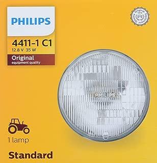 PHILIPS 4411C1 Standard Incandescent Sealed Beam headlamp