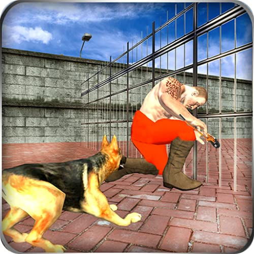 Crime City Gangster Prison Breakout Krimineller Fall: Duty Police Hundesimulator Cop Chase Kostenloses 3D-Spiel