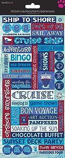Best cruise scrapbook stickers Reviews