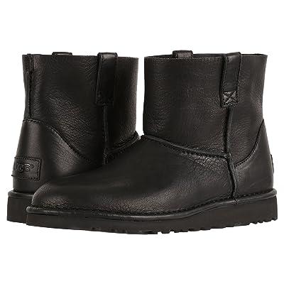 UGG Classic Unlined Mini Leather (Black) Women