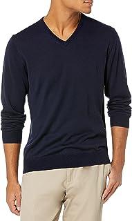 Men's Lightweight Merino Wool V-Neck Sweater