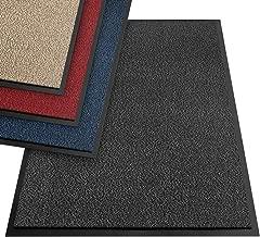 etm® Schmutzfangmatte - Note 1,6: Sieger Preis-Leistung - Fußmatte in vielen Größen - Türmatte Fußabstreifer für Haustür innen und außen (Anthrazit-Schwarz, 90x150 cm)