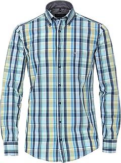 Casa Moda - Camisa Casual para Hombre, diseño a Cuadros