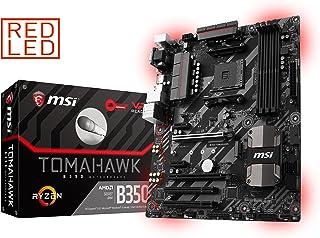 MSI B350 Tomahawk - Placa Base Arsenal (AMD AM4 B350 ATX, DDR4 Boost, Gaming LAN, Audio Boost, VR Ready, Gaming Leds, Military Class V)