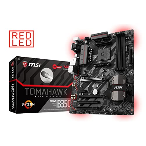 Amazon com: MSI Gaming AMD Ryzen B350 DDR4 VR Ready HDMI USB