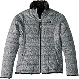 472cfdb49 The north face kids girls reversible down moondoggy plaid jacket ...