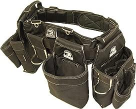 Gatorback B145 Carpenters Triple Combo w/Pro-Comfort Back Support Belt. For Best Fit Measure ACTUAL WAIST SIZE OVER CLOTHES. (Large 36