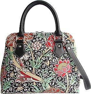 Signare Womens Fashion Canvas Tapestry Convertible Shoulder Handbag in The Cray Design