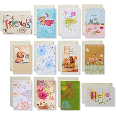 American Greetings Friendship Cards, Assorted (12-Count)