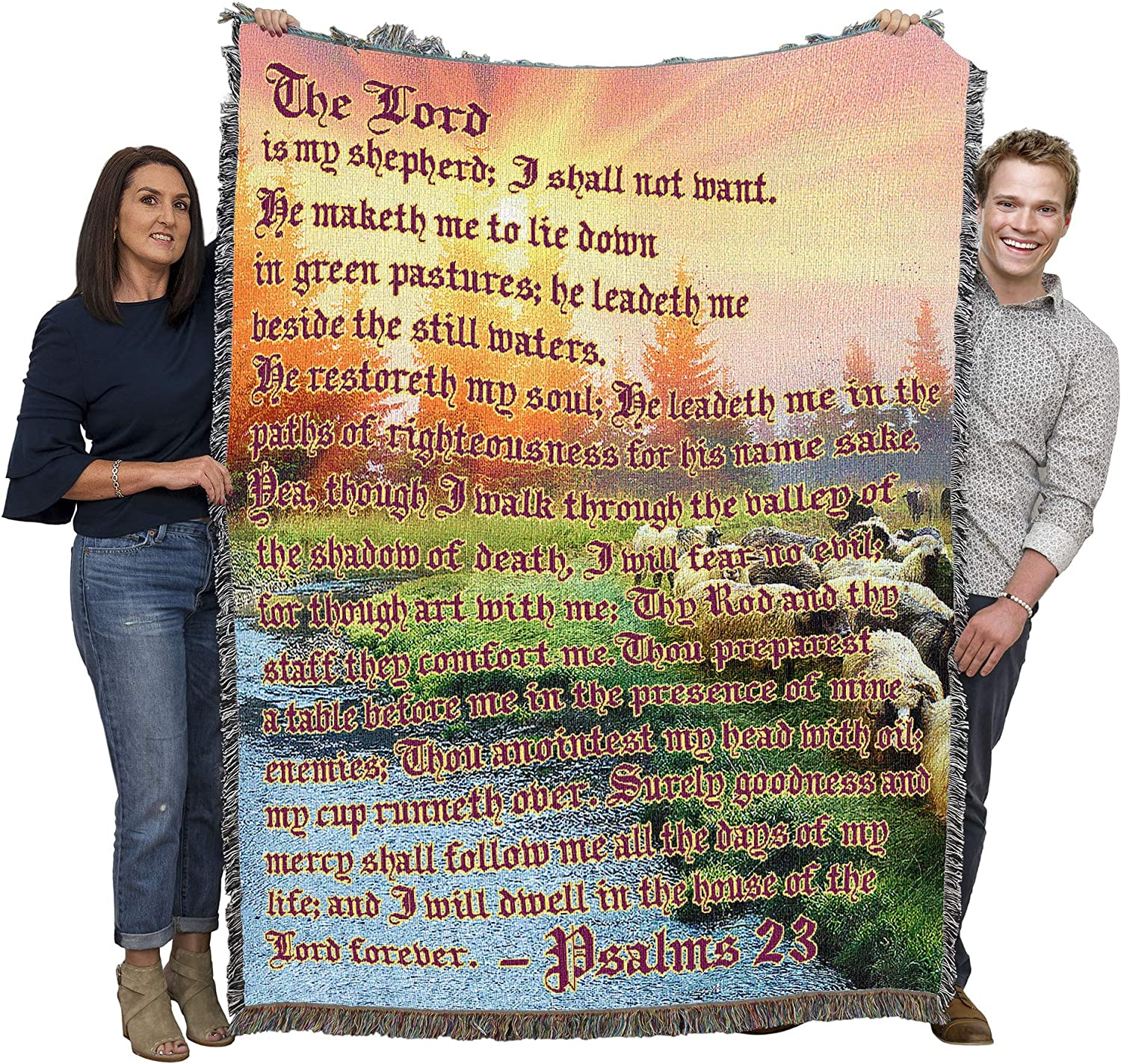 The Lord is My Shepherd - 23 Cot Psalm Sympathy Ranking TOP12 Max 67% OFF Scriptures
