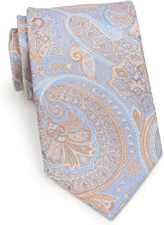 Bows-N-Ties Men's Necktie Pastel Paisley Microfiber Satin Tie 3.35 Inches