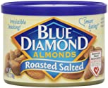 Blue Diamond Almonds, Roasted Salted, 6 Oune