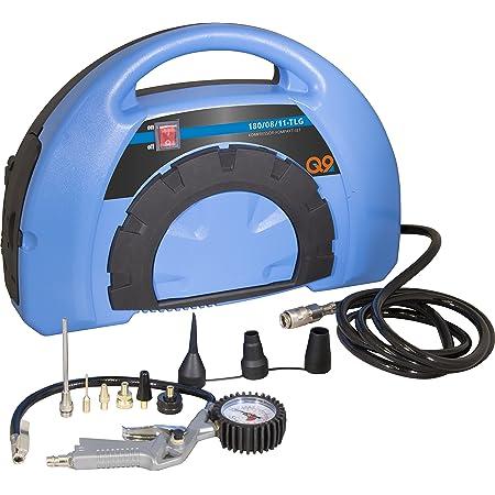Meister Kompressor Tragbar 1100 W 8 Bar 5 M Kabel 9 Adapter Inklusive Für Luftmatratzen Fahrradreifen Bälle Co Druckluft Kompressor Luftpumpe Reifenfülldruckmesser 5404300 Baumarkt