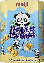 Meiji - Hello Panda Milk Cream Biscuits (Large Box) 9.1 Oz.