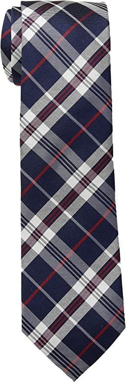 Silk Twill Plaid Tie