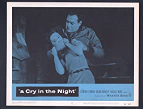 MOVIE POSTER: Cry in the Night Lobby Card #2-1956-Edmund O'Brien