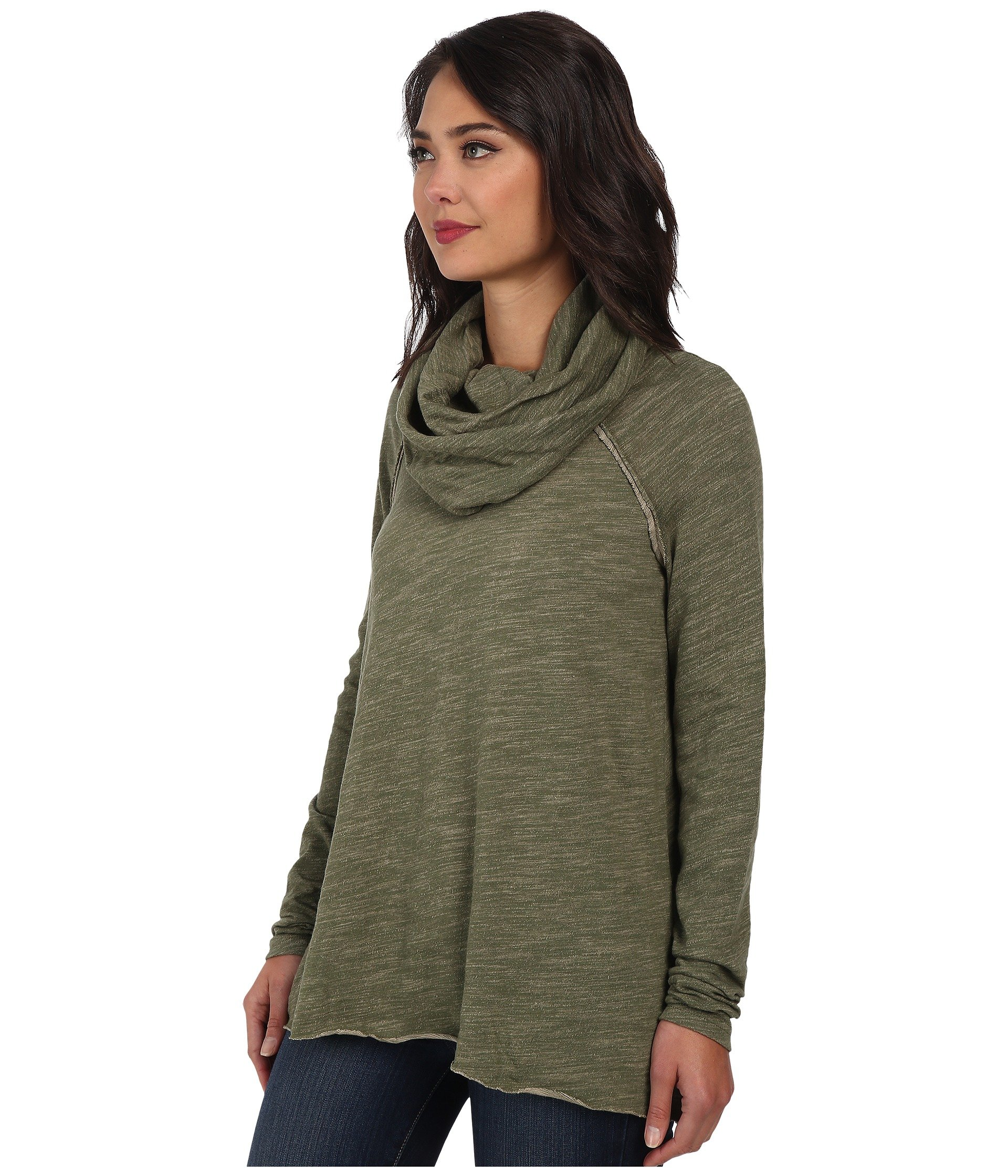 Free People Cocoon Cowl Pullover at Zappos.com