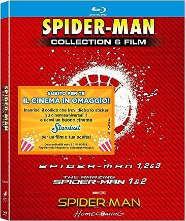 spider-man collection (6 blu-ray) box set Blu-ray Italian Import