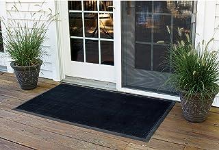NoTrax Rubber Brush Floor Matting - 36in. x 72in, Black, Model# 345S3672BL