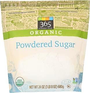 365 Everyday Value Organic, Powdered Sugar, 24 oz