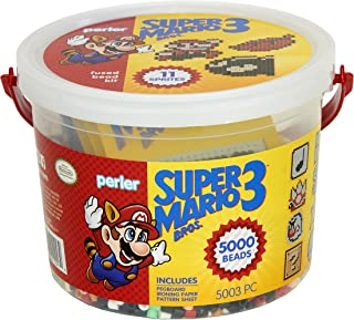 Perler Super Mario Craft Bead Bucket Activity Kit, 5003 pcs