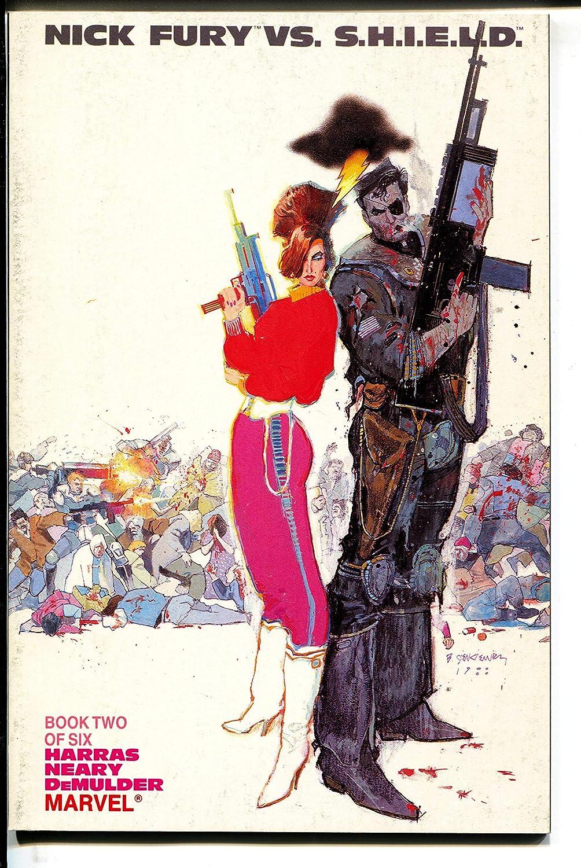 Nick Fury Max 44% OFF vs. Harras-TPB-trade 2-Bob overseas S.H.I.E.L.D.-Book
