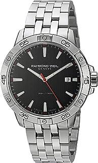 Raymond Weil - Reloj analógico de cuarzo suizo para hombre con correa de acero inoxidable 8160-ST2-20001