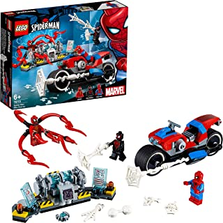 LEGO Spider-Man Spider-Man Bike Rescue 76113 Building Toy, Vehicle Toy for 6+ Year Old Boys and Girls, 2019