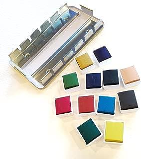 lukas empty half pan watercolor box