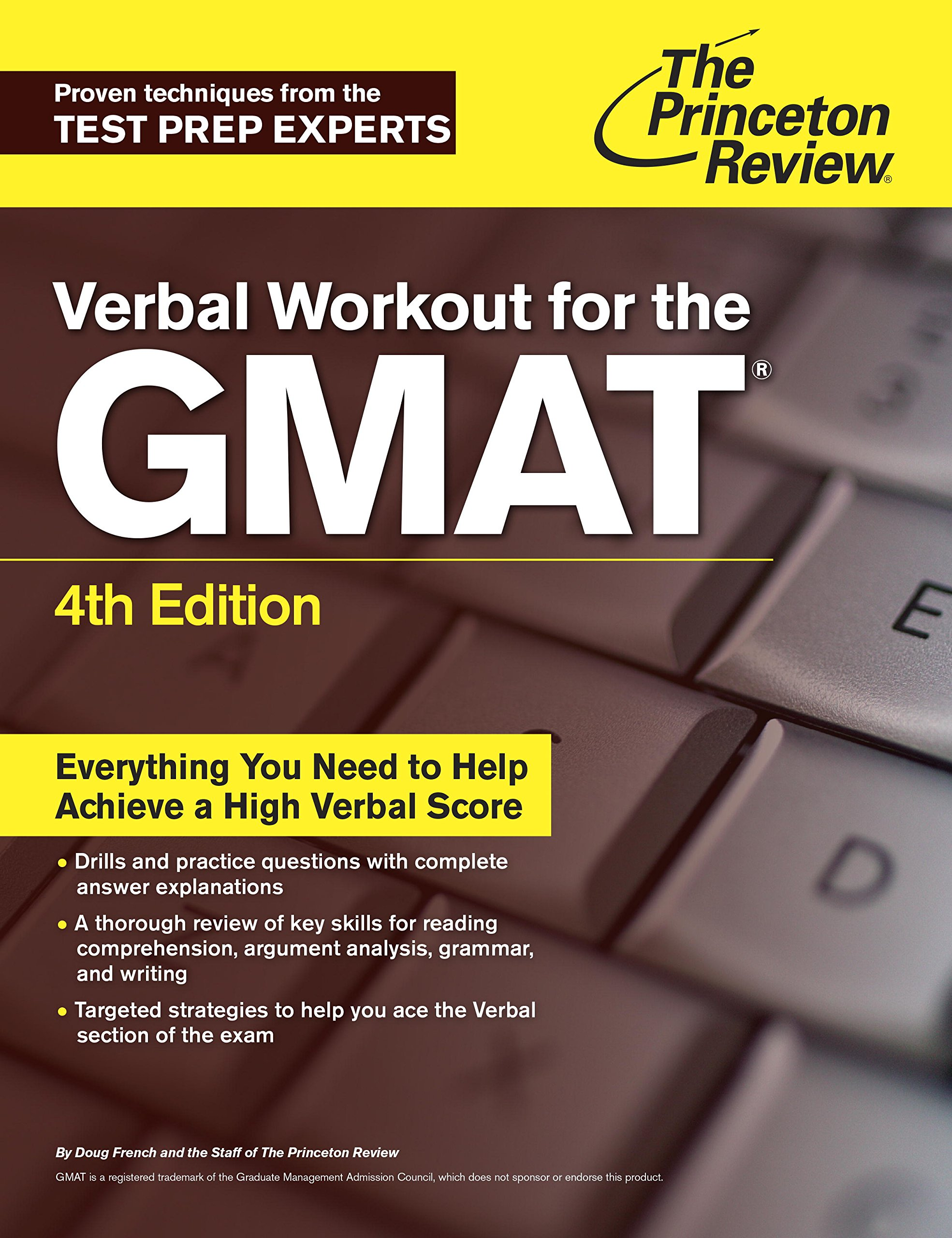 Verbal Workout for the GMAT, 4th Edition (Graduate School Test Preparation)