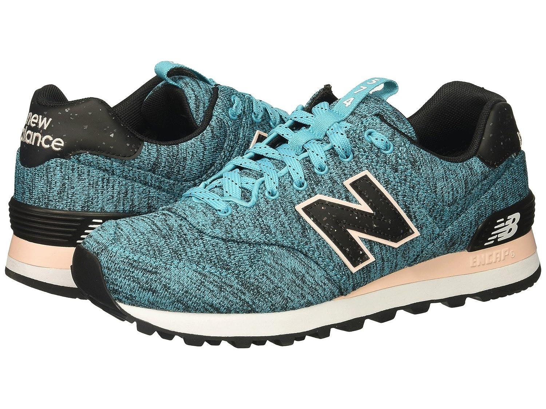 (ニューバランス) New Balance メンズランニングシューズ?スニーカー?靴 WL574v1 Vivid Ozone Blue/Sunrise Glo ヴィヴィッド ブルー/サン グロー 6.5 (24.5cm) D