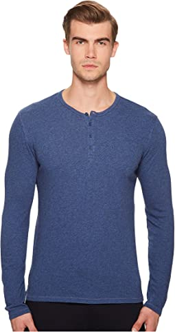 Cheap Sale Sale Cheap Sale Best Sale Vince Ribbed Henley - Heather New Coastal Sale Exclusive Cheap Real Finishline 2018 New Sale Online XBOqNAS