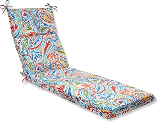 Pillow Perfect Outdoor Ummi Chaise Lounge Cushion, Multicolored