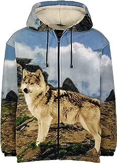 wolf jumper fleece