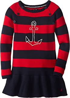 red anchor dress