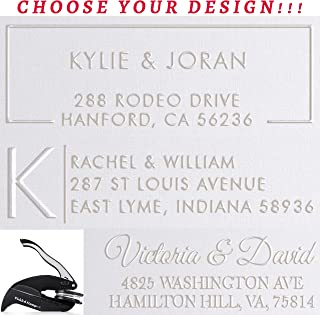 Address Embosser Seal Stamp Personalized Customized Rectangle 2