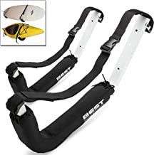 Best Marine Kayak Storage Rack Wall Mount Accessories for Kayaks and SUP Paddle Board. 2 Wall Racks for Garage, Pier, Dock or Shed. Indoor Outdoor Kayak Hangers. 100 Pound Capacity Kayak Stands