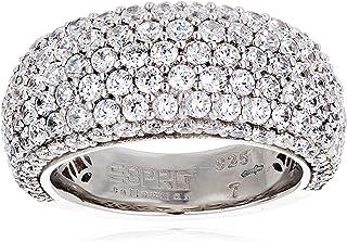 Esprit Elrg91530A170 Amorana Day Silver Ring Size: N