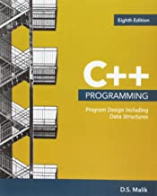 C++ Programming: Program Design Including Data Structures, Loose-leaf Version