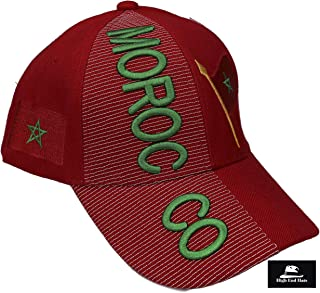 """Nations of Africa Hat Collection"" 3D Embroidered Adjustable Baseball Cap Includes 1-Year Warranty"