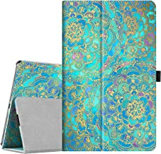 Fintie Folio Case for Samsung Galaxy Tab A 10.1 2019 Model SM-T510(Wi-Fi) SM-T515(LTE) SM-T517(Sprint), Slim Fit Premium Vegan Leather Stand Cover, Shades of Blue