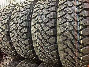 Set of 4 (FOUR) Centennial Dirt Commander M/T Mud-Terrain Radial Tires-LT285/70R17 121/118Q LRE 10-Ply