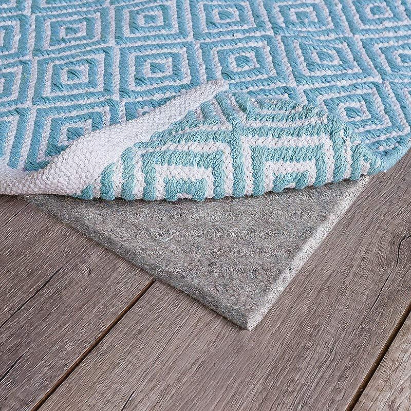 RUGPADUSA NC28 2211 Natural Comfort 100 Felt Rug Pad 9 X 12 Grey