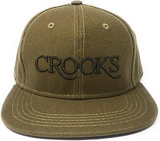 crooks and castles snapback hat