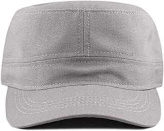 c4e67c08 THE HAT DEPOT Made in USA Cotton Twill Military Caps Cadet Army Caps