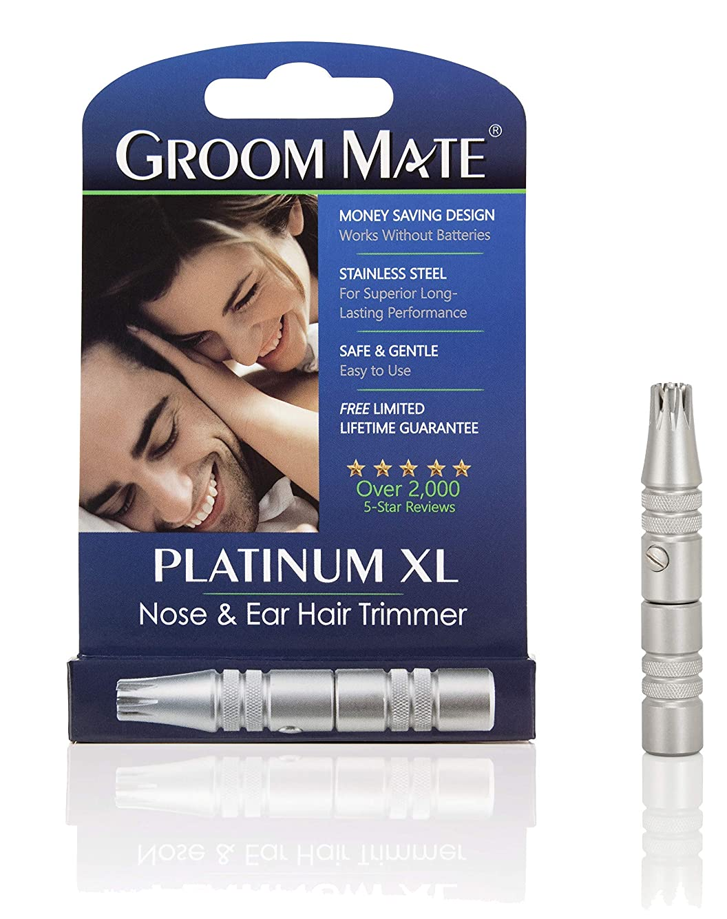 ベックス支払うアンプGroom Mate 鼻毛?耳の毛カッター プラチナ XL 25400