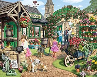White Mountain Puzzles The Garden Shop - 1000Piece Jigsaw Puzzle